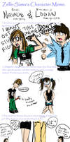 Logan+Natalie Character Meme by Kilimac