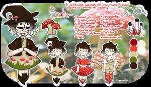 Sadie the Mushroom Witch [Design Gift] by SpaciiReii