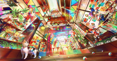 Kaleidoscopic Bazaar by LuluSeason