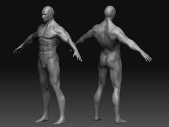Base Male sculpt by Drachis