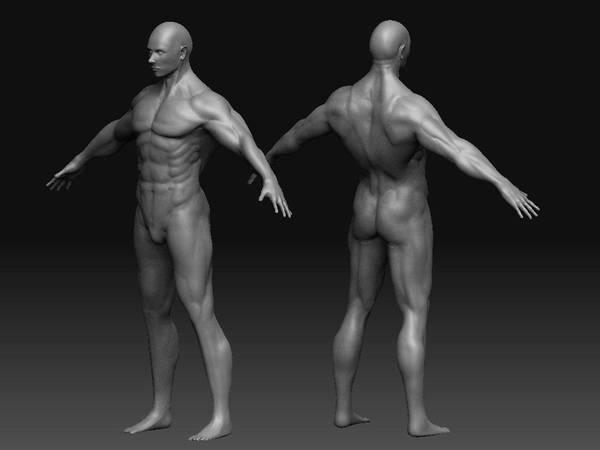 Base Male sculpt by Drachis