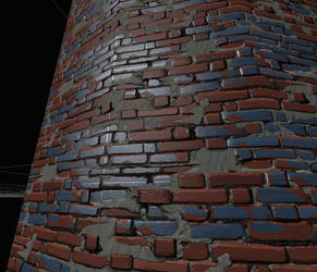 Bricks Texture Test by Drachis