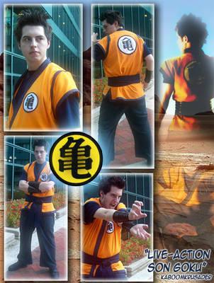 Live-action Son Goku by KaboomKrusader