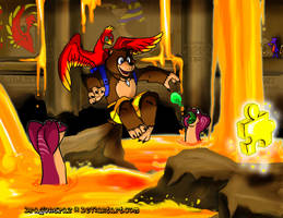 Banjo and Kazooie by Dragonspaz