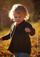 Autumn Girl by WARHORSEstudio