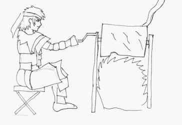 Sketchbook 07 - Monster Meat by Falryu