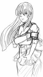 Serious Maid by Falryu