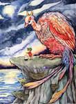 Vermilion bird by Rkpp