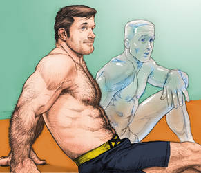 Hank and Bobby by NMRosario