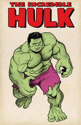 The Incredible Hulk - colored by NMRosario