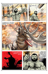 The Legend of Brug - page 2 WIP by NMRosario
