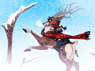 Dashing through the snow! by Odahviing