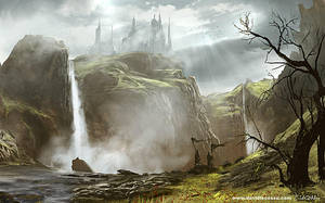 DLecossu Castle by D--CO