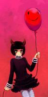 Redballboon by bloodink6