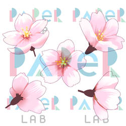 Cherry Blossom Clip Art by bloodink6