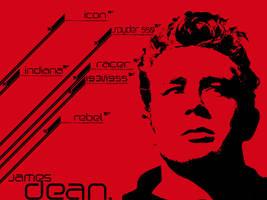 JAMES DEAN by paranoik-designs