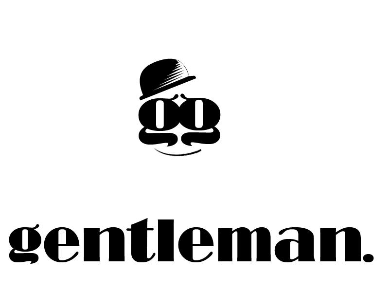 gentleman logo by paranoik-designs
