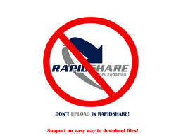 DONT UPLOAD IN RAPIDSHARE by paranoik-designs