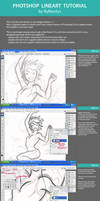 Lineart tutorial on Photoshop by RyMantys