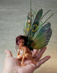 Young Mantis fairy 3 by fairiesndreams