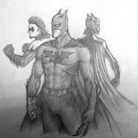 Batman Batgirl Nightwing_WIP by sulfar