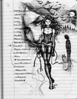 my notebook-Anita Blake by aryundomiel