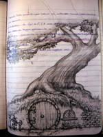 my notebook-bag end by aryundomiel