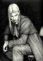 In the dark corner-Caius by aryundomiel
