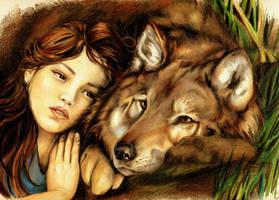 a warm hug by aryundomiel