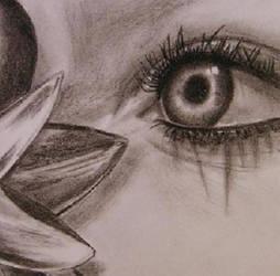 Charcoal - Eye_closeup by SangrealDeJoy