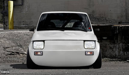 Superb Fiat 126 by Slbamm by Slbamm