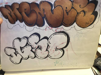 unfinished work  by steevoe