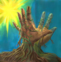 Earth hands by Demonh86