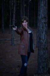 Deanne Winchester in the woods by Lady-Skywalker