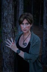 Bloodied Deanne Winchester by Lady-Skywalker