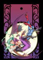 Darkstalkers Issue 3 Variant by emilywarrenart