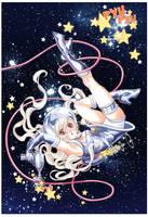 Space Garnet by emilywarrenart