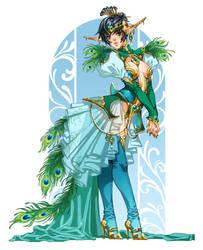 Peacock by emilywarrenart