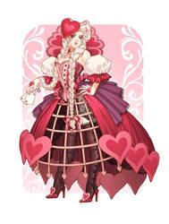 Queen of Hearts by emilywarrenart