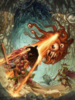 The Beholder by emilywarrenart