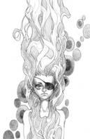 Klimt Eyepatch by emilywarrenart