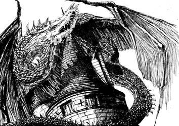 Dragon by Kyorukki