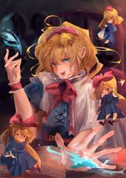 Alice Margatroid by Kyorukki