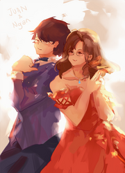 Commission 3 by Kyorukki