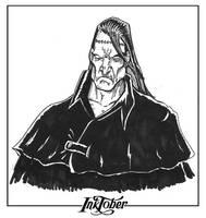 INKTOBER Day 16: Victor Frankenstein Creature by koyotenahual