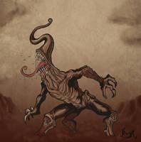 The Howler in the Dark by koyotenahual