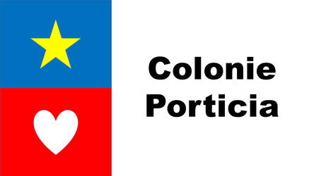 Colonie Porticia Flag by Ausland42