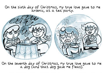 12 Days of Monty (day 6 and 7) by trivialtales