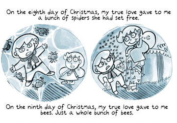 12 Days of Monty (day 8 and 9) by trivialtales