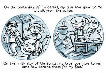 12 Days of Monty (day 10 and 11) by trivialtales